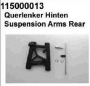 Ansmann 115000013 Suspension Arms Rear - ARN1