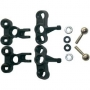 Ansmann 125000106 Hub Set F/R with Fixings - Smacker/ARE1