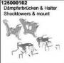 Ansmann  125000102 D�mpferbr�cken & Halter Smacker