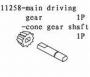 Carson 11258 Kegelritzel mit Welle CS-4B