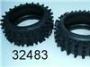 Carson 32483 Reifen mit Einlagen 1Paar
