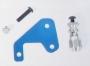 Carson 908030 Antennenrohrhalter alu,blau