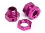 HBC8040-2 6.7MM HEX WHEEL ADAPTER PURPLE