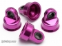 HB 24501 SHOCK CAPS FOR C8104-1,C8105-1. LONG PURPLE 4PCS( LIGHT