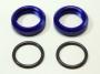 KYOSHO #IG001-3BL Spring Adjuster (Blue/2pcs) (DBX)