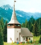 """Kibri 7031 Dorfkirche """"Sertig"""", Spur N"""