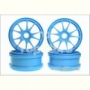 Kyosho IFH002BL  Ten-Spoke Wheel (Blue/4pcs)