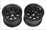 Kyosho TRH001BK WHEEL (BLACK/2pcs/DBX)
