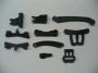LRP 132005 Servo-Saver Plastikteile + Schwingenhalter vorne -