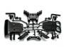 Tamiya 0004468 B-Teile D�mpferbr�cken TNS-B Mad Spirit