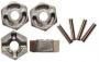 Tamiya 53056 Tuning Aluminium-Radmitnehmer Sechskant