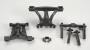 Traxxas 5314 Front/Rear Body Mounts w/Posts & Pins Revo